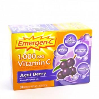 Emergen C Fizzy Drink Mix Acai Berry (1x30 Ct)