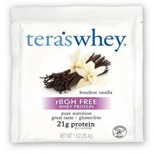 Tera's Whey Organic Whey Protein Packet Bourbon Vanilla (12x1 OZ)