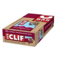 Clif Bar Organic Energy Bar Berry Pomegranate Chia (12x2.4 OZ)