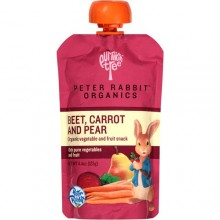 Peter Rabbit Organics Beet Carrot And Pear Vegetable And Fruit Snacks (10X4.4 OZ)