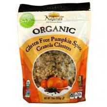 New England Naturals Organic Pumpkin Spice Granola Clusters (6x10 OZ)