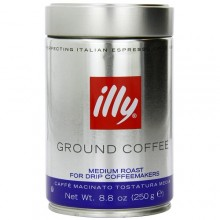 illy Ground Drip Medium Roast Coffee (6x8.8 OZ)