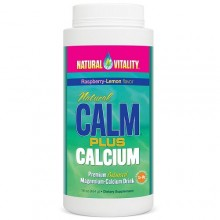 Natural Vitality Calm Plus Calcium Raspberry Lemon  (1x16 OZ)