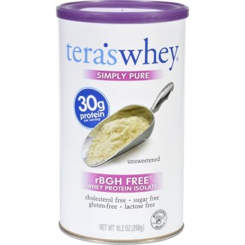 Tera's Whey Simply Pure Whey Protein Isolate (1x10.2 OZ)