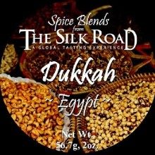 Silk Road Dukkah Egyptian Spice Blend (6X2 OZ)