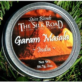 Silk Road Garam Masala Indian Spice Blend (6X2 OZ)