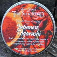 Silk Road Togarashi Japan (6X2 OZ)