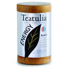Teatulia Organic Energy Black Tea (6x30 BAG )
