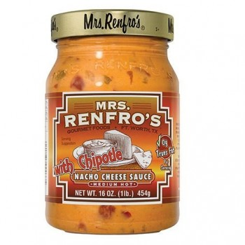Mrs. Renfro's Nacho Cheese Sauce with Chipotle (6x16 OZ)