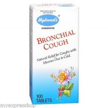 Hyland's Bronchial Cough Relief (1x100 TAB )