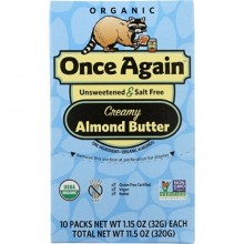 Once Again Organic Almond Butter Squeeze (10X1.5 OZ)