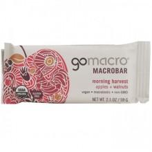 Go Macro Apples and Walnuts Macrobar (12x2.1 OZ)