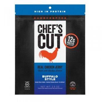 Chef's Cut Real Chicken Jerky Buffalo Style (8x2.5 OZ)