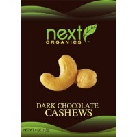 Next Organics Dark Chocolate Cashews  (6x4 OZ)