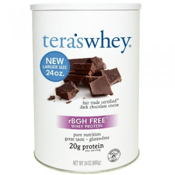 Tera's Whey rBGH Free Whey Protein Dark Chocolate Cocoa (1x24 OZ)