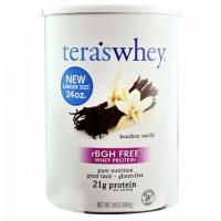 Tera's Whey rBGH Free Whey Protein Bourbon Vanilla (1x24 OZ)