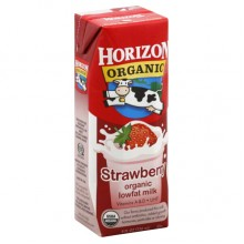 Horizon Lowfat Strawberry Milk (1x12 PACK)