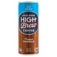 High Brew Coffee Mexican Vanilla (12x8 OZ)