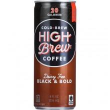 High Brew Coffee Black & Bold (12x8 OZ)