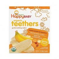 Happy Baby Teethers Teething Wafers Sweet Potato & Banana (6x1.7 OZ)