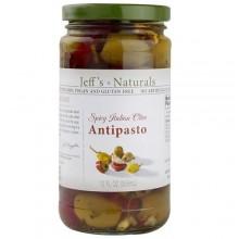 Jeff'S Naturals Spicy Italian Olive Antipasto (6x12 OZ)