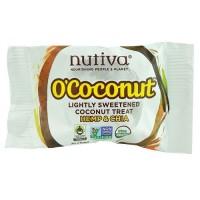 Nutiva O'Coconut Lightly Sweetened Coconut Treat, Hemp & Chia (24X0.5 OZ)