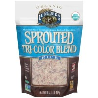 Lundberg Organic Sprouted Tri-Color Blend Rice (6x1 LB  )