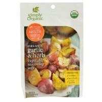 Simply Organic Vegetable Seasoning Mix Garlic & Herb (12X0.71 OZ)