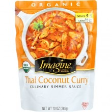 Imagine Culinary Simmer Sauce Thai Coconut Curry (6x10 OZ)