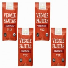Riega Foods Veggie Fajitas Seasoning Mix (8X0.9 OZ)