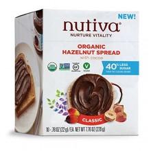 Nutiva Hazelnut Spread, Classic (10X0.78 OZ)