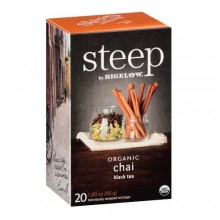 Bigelow Steep Organic Chai Black Tea (6x20 BAG )