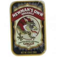 Newman's Own Organics Ginger Mints (8x5 OZ)