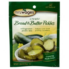 Mrs. Wages Bread & Butter Pickles Mix (12x5.3 OZ)
