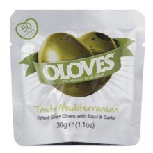 Oloves Oloves Bsl/Garlic Olive (10X1.1 OZ)