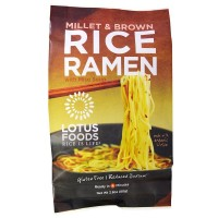 Lotus Foods Organic Rice Ramen With Miso Soup (10x2.8 OZ)