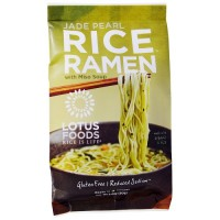Lotus Foods Rice Ramen Noodles Jade Pearl Rice with Miso Soup (10x2.8 OZ)