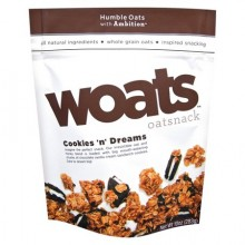 Woats Oatsnack Cookies `N` Dreams (9x10 OZ)