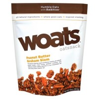 Woats Oat Snack Peanut Butter Graham Slam (9x10 OZ)