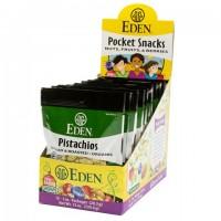 Eden Foods Pistachios Shelled (12x1 OZ)