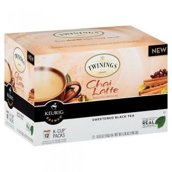Twinings Chai Latte K-cups (6x12 Ct)