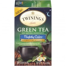 Twinings Green Tea Nightly Calm (6x20 Ct)