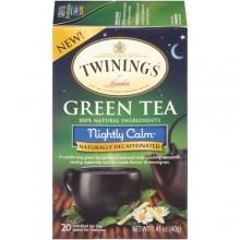 Twinings Green Tea Nightly Calm (6x20 Ct)
