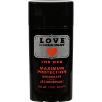 Herban Cowboy Deodorant Love Maximum Protection (1x2.8 OZ)