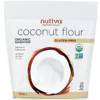 Nutiva Organic Coconut Flour, Gluten-Free (6X1 Lb  )