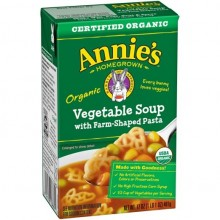 Annie's Homegrown Organic Vegetable Soup with Farm-Shaped Pasta (8x17 OZ)