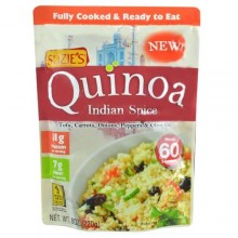Suzie's Quinoa Ready-to-Eat & Fully Cooked Indian Spice (6x8 OZ)