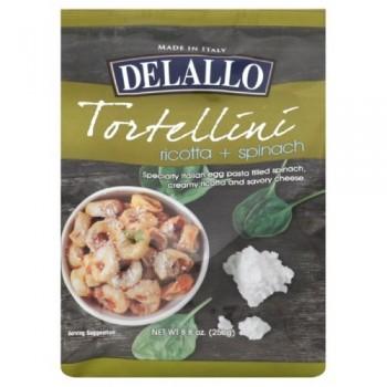 Delallo Tortellini Ricotta & Spinach (12x8.8 OZ)