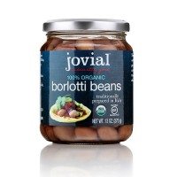 Jovial Organic Borlotti Beans  (6x13 OZ)