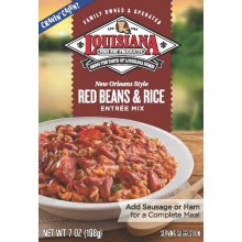 Louisiana Entr_e Mix New Orleans Style Red Beans and Rice (12x7 OZ)